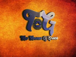 Tog 3d glass window logo